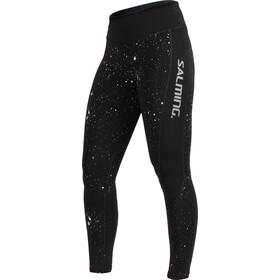 Salming Reflective Pantaloni da corsa lunghi Donna nero